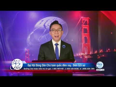 Hot News với Thanh Tùng _Show 85_ Aug 19 2020_ Đại Hội Đảng Dân Chủ toàn quốc đêm nay   Đêm lịch sử.