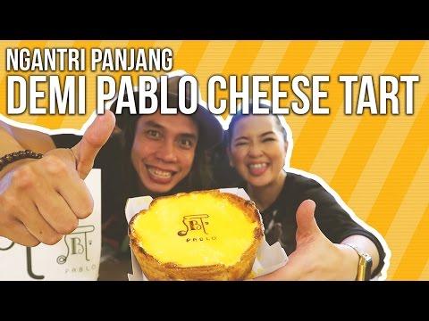 Pablo Cheese Tart | Ayo Makan | GERRY GIRIANZA ft. SABRINA ATHIKA