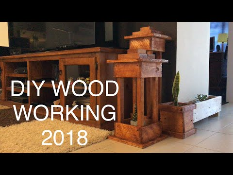 All my 2018 DIY WoodWorking Projects