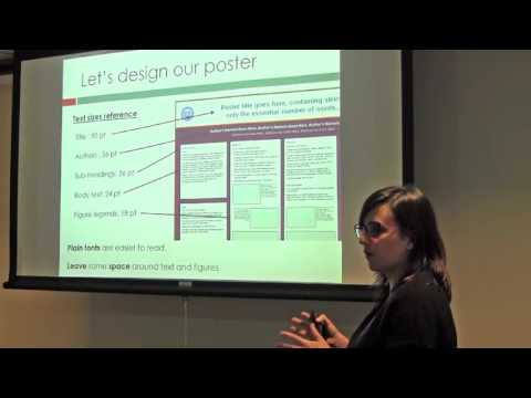 How To Create a Quality Scientific Poster by Dr. Itziar Pinilla Macua