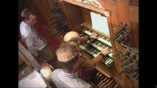 Willem van Twillert plays Mushel, Toccata, Hinsz-Van Dam-organ, Bolsward [NL]