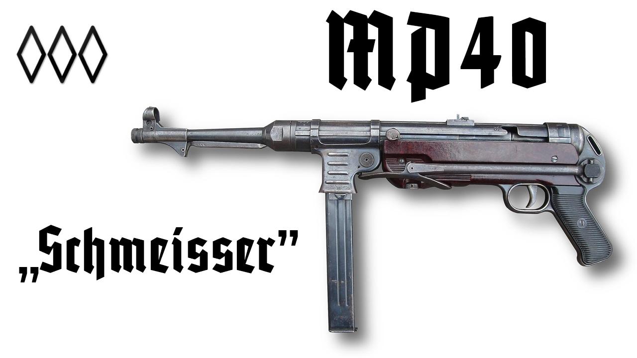 """MP 40 """"Schmeisser"""" - YouTube"""