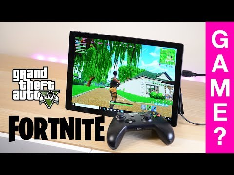 download Surface Pro 6 Gaming Review - Fortnite, GTA 5, Civ 6 - Can it Game?