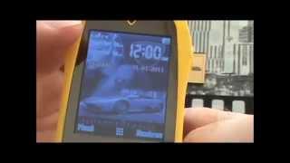 Telefono de Diseño, Forma de Movil Coche Lamborghini