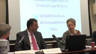 Panel session 1: Criminal Law Reform and European Integration in the Balkans