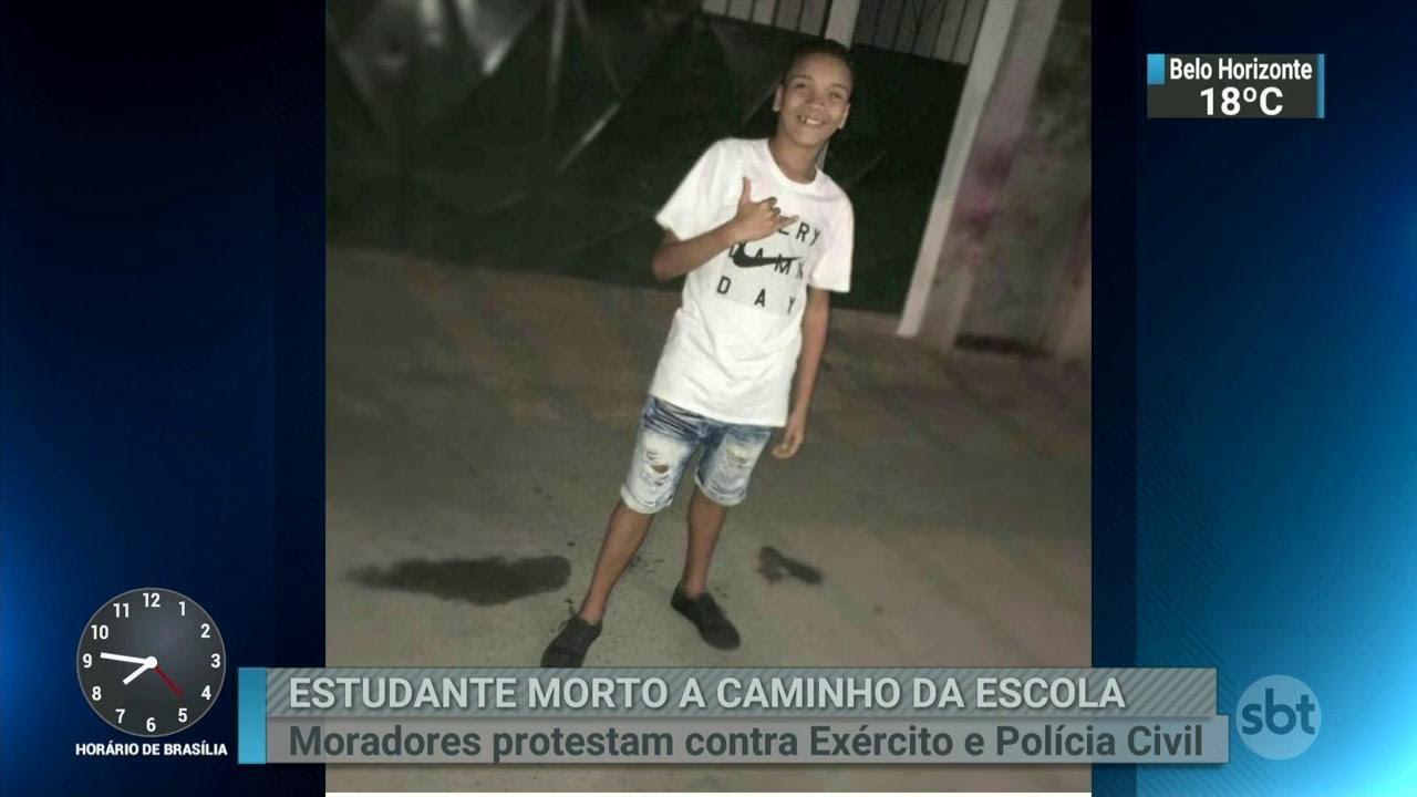 Jovem é assassinado na calçada de casa no Bairro Professor