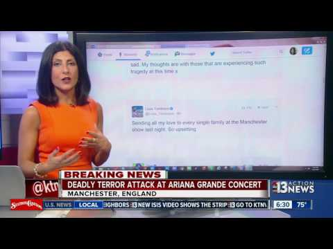 Deadly terror attack at Ariana Grande Concert