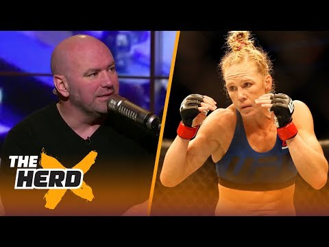 Dana White talks Holly Holm vs. Cyborg, what's next for McGregor and Floyd Mayweather | THE HERD