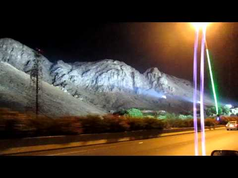 SubahanAllah Mount Uhud, under Spotlight.