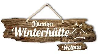 UHRENWERK 2016 Köstritzer Winter Hütte Weimar