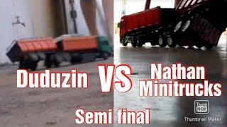 Duduzin VS Nathan minitrucks (Semi final time 1)