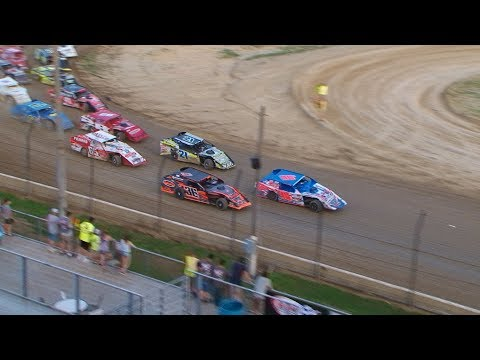 DIRTcar Summer Nationals Modifieds Plymouth Speedway June 17th, 2018 | HIGHLIGHTS