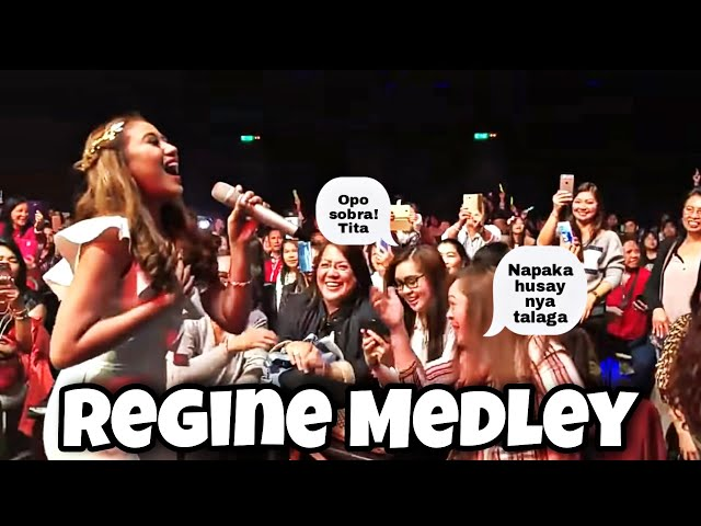 Regine Medley SLAAAAYY by Morissette Live at Athens GREECE (03-24-2018)