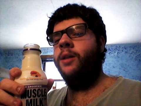 Deadcarpet Energy Drink Reviews - Mango Tangerine Muscle Milk Smoothie