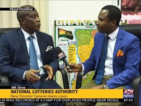 National Lotteries Authority - AM Show on Joy News (14-6-17)