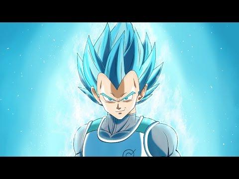 How to draw Vegeta Super Saiyan Blue (step by step) - Como dibujar a Vegeta Super Sayayin Azul