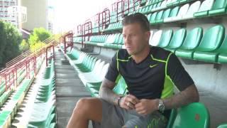 Андрей Воронин [футбол] об инфраструктуре украинского футбола