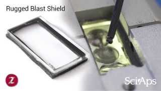 SciAps Z-100 Rugged Quartz Blast Shield