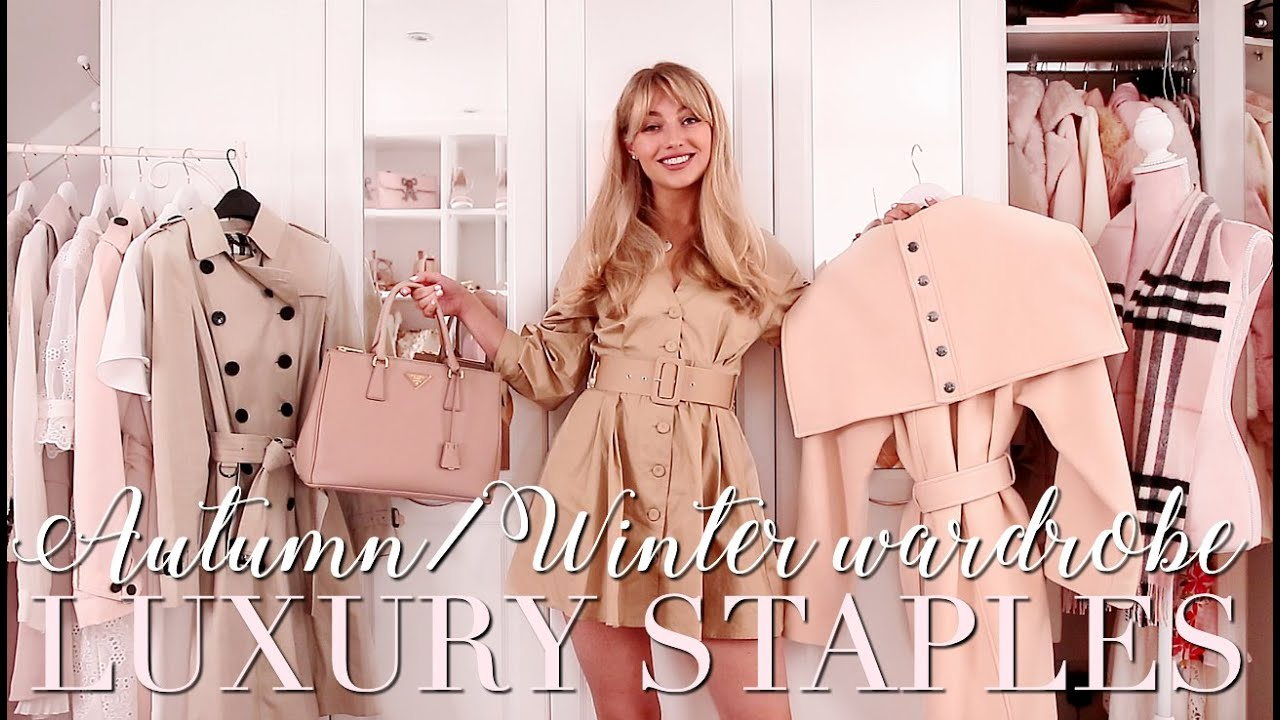 Top 5 Autumn/Winter LUXURY Wardrobe Staples! ~ Freddy My Love