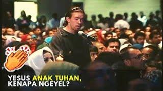 Yesus Keturunan Tuhan? 💥 Bule Ini Masuk Islam Setelah Pertanyaannya Dijelaskan Oleh Dr. Zakir Naik