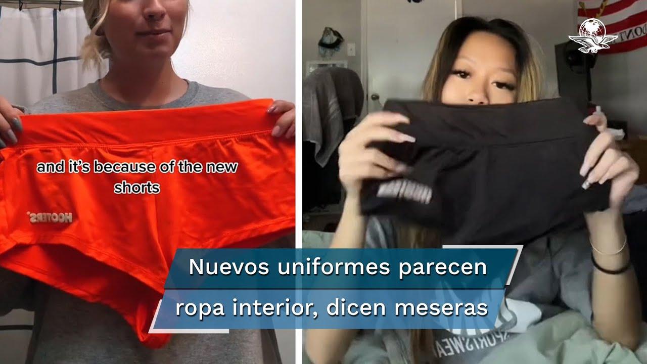 Download Meseras de Hooters critican nuevo uniforme por ser ropa interior