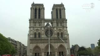 Notre-Dame de Paris : incendie éteint, les pompiers toujours mobilisés 1/2 | AFP Images