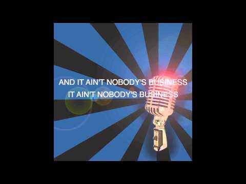 Nobody's Business by Rihanna and Chris Brown Official Karaoke Instrumental with Lyrics on Screen