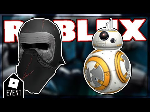 [LEAKS] ROBLOX ALL STAR WARS EVENT PRIZES   ROBLOX EVENT 2019