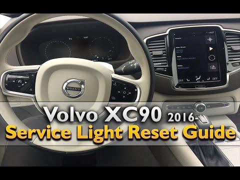 Volvo XC90 2016- Service Light Reset / SRI