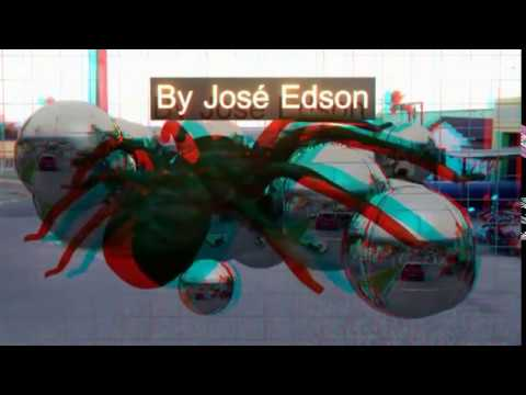 3D Vídeo - Aranha Salta Da Tela - Jumping Spider Screen