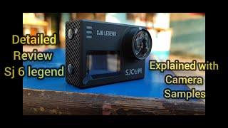 SJCAM SJ6 Legend Sports amp Action Camera Detailed review