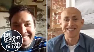 Andy Puddicombe Guides Jimmy Through a Take 10 Headspace Meditation