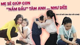 """Gia đình là số 1 phần 2 ep cut 107: Thám Hoa cỗ vũ nhiệt tình khi Lam Chi """"nắm đầu"""" Tâm Anh như dế?"""