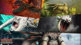Green Death/Foreverwing/Bewilderbeast/Screaming Death/Drago's Bewilderbeast | Dragons: Rise of Berk