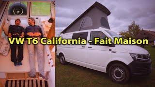 AMÉNAGEMENT 💪👍 Volkswagen VW T6 CONVERSION #VanTour mieux qu'un CALIFORNIA  #VanLife Voyage Voyages