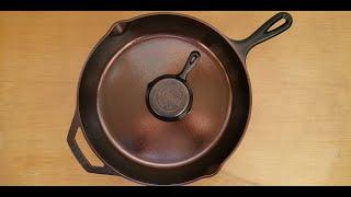 Чугунная Посуда Особенности нанесения Защитного Антипригарного покрытия. Немного о льняном масле.