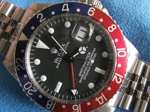 Vintage ROLEX GMT MASTER *1675* Review - Beautiful !!