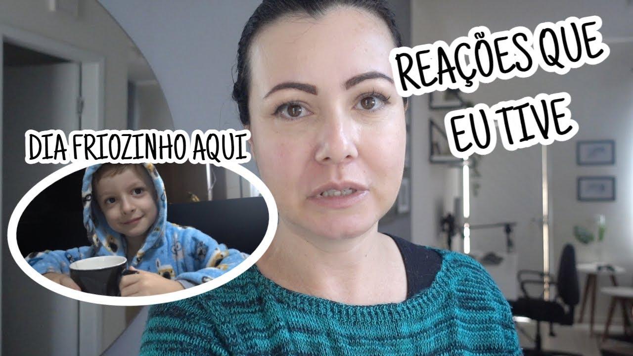 ERA MESMO REAÇÃO À VACINA  SEGUNDA GELADA  Daily Vlog #julho2021