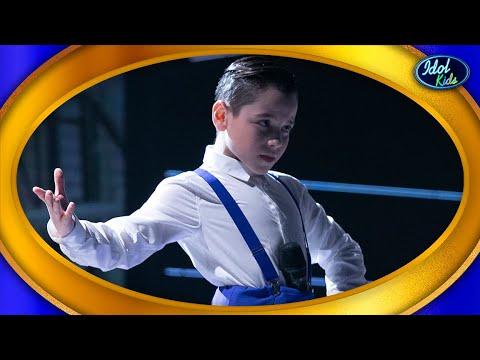 ÁLEX VIZUETE se pone una BATA de COLA para GANAR el PROGRAMA | Gran final | Idol Kids 2020