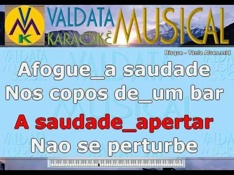 Risque   Tânia Alves   Karaoke
