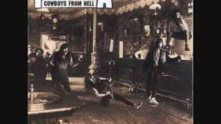 pantera- cowboys from hell