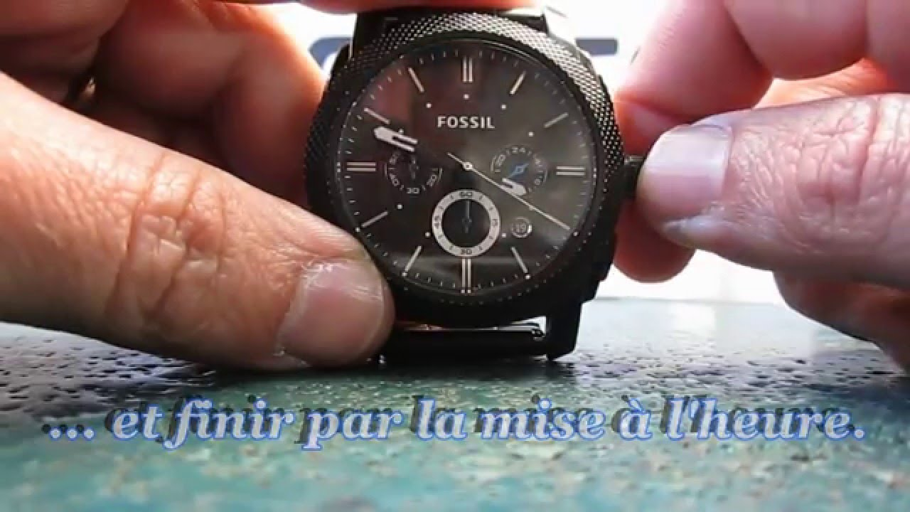 comment changer un verre de montre fossil par doc watch youtube. Black Bedroom Furniture Sets. Home Design Ideas