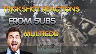 "BEST ""Trickshot Reactions"" from Subscribers! ""Killcam Reactions"" on MW2, BO2, Ghosts - Obey Scarce"