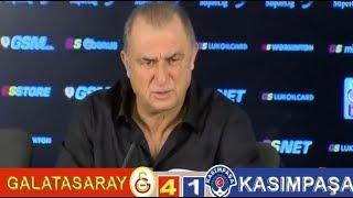 Galatasaray 4-1 Kasımpaşa , maç sonrası Fatihterim basın acıklaması