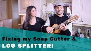 Fixing my Soap Cutter & Log Splitter with Jay Flamenco