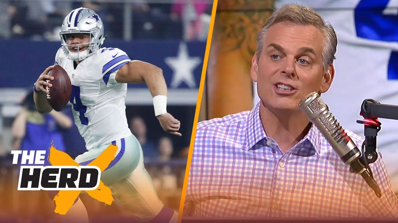 Colin on Landon Collins making comments about Dak, Gruden vs Shanahan | NFL | THE HERD