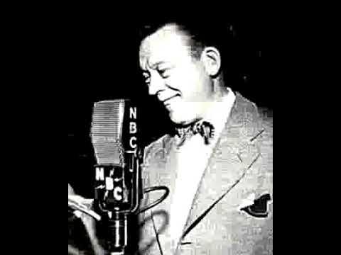 Fred Allen radio show 4/28/46 Bert Lahr / Reading a Racing Form