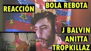 Tropkillaz, J Balvin, Anitta - Bola Rebola ft. MC Zaac (REACCIÓN)