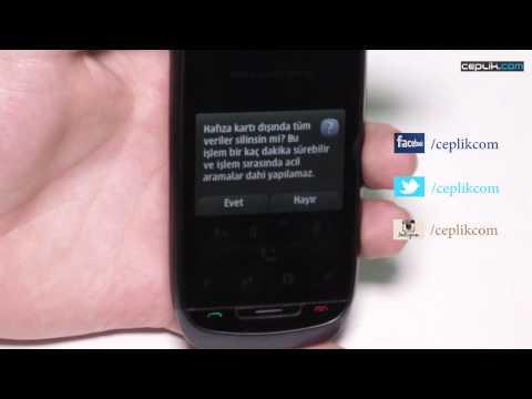 Nokia 701 Modeline Nasıl Format Atılır?
