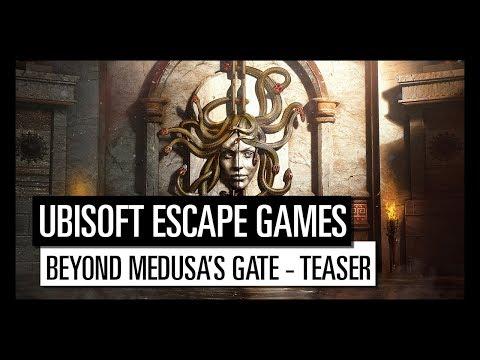 UBISOFT ESCAPE GAMES | BEYOND MEDUSA'S GATE - TEASER